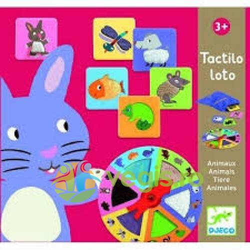 tactilo loto animale djeco