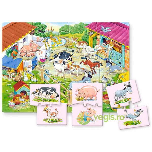 Puzzle 12 Maxi - Mother and Baby CASTORLAND