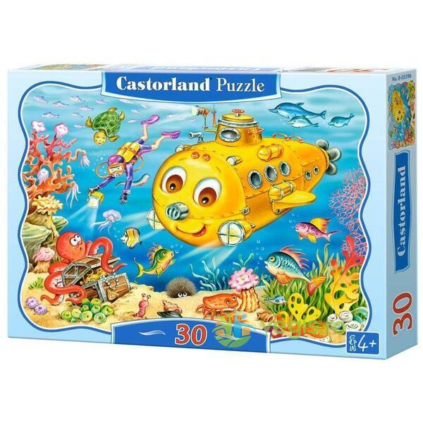 Puzzle 30 Castorland - Happy Submarine