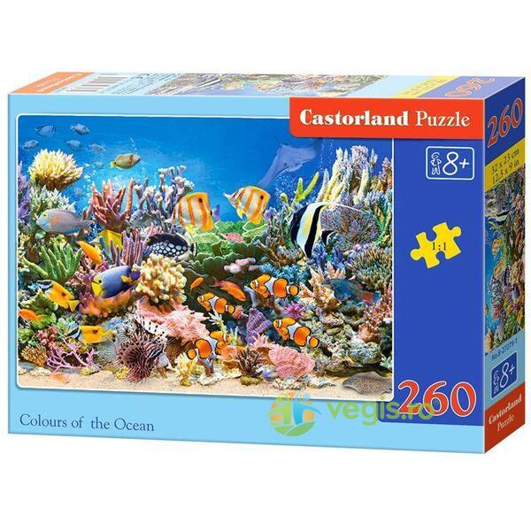 Puzzle 260 Castorland - Colours of The Ocean