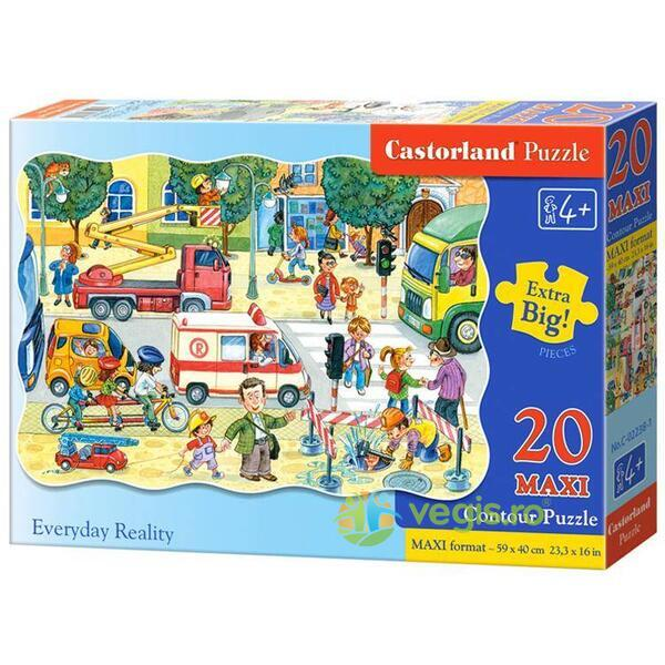 Puzzle 20 Maxi - Everyday Reality CASTORLAND