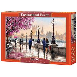 Puzzle 2000 Castorland - Along the River