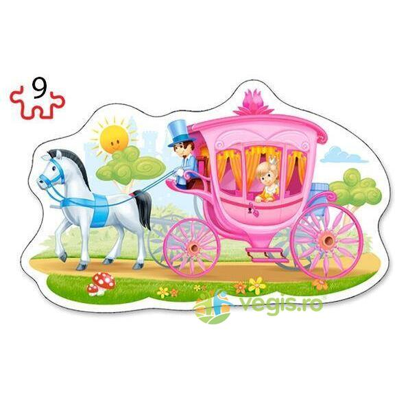 Puzzle 2 in 1 Castorland - The Princess Ball