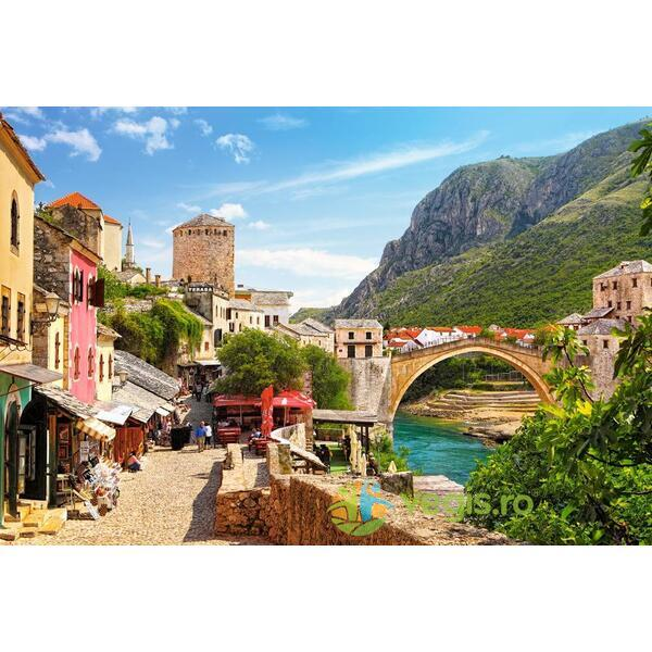 Puzzle 1500 Castorland - The Old Town of Mostar