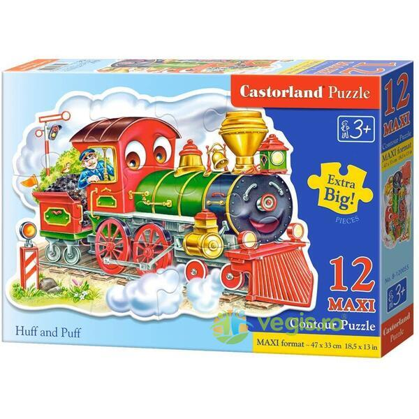 Puzzle 12 Maxi - Huff and Puff CASTORLAND