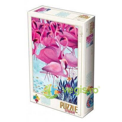 Puzzle 1000 Tropical (flamingo) D TOYS