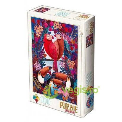 Puzzle 1000 Tropical (papagal) D TOYS
