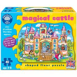 Puzzle de podea Castelul magic (40 piese) - Magical Castle ORCHARD TOYS