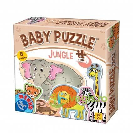Baby puzzle Jungle D TOYS