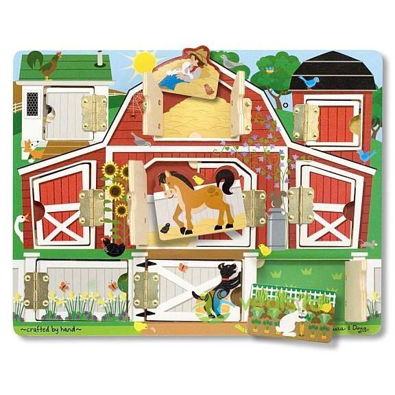Puzzle magnetic ascunde si descopera 3 ani+ Melissa and Doug