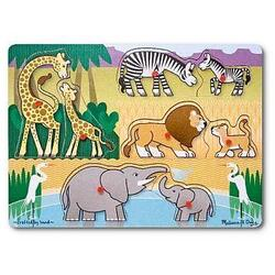 Puzzle lemn Safari 2 ani+ Melissa and Doug