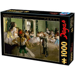 Puzzle 1000 Edgar Degas - The dancing class D TOYS