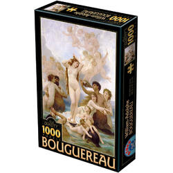 Puzzle 1000 William-Adolphe Bouguereau - The birth of Venus D TOYS