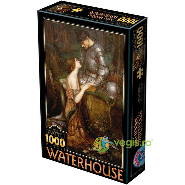 Puzzle 1000 John William Waterhouse - Lamia D TOYS