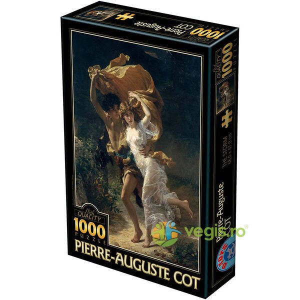 Puzzle 1000 Pierre-Auguste Cot - The Storm