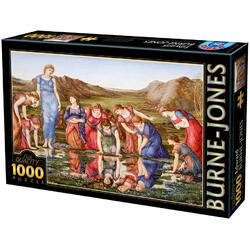 Puzzle 1000 Edward Burne-Jones - The mirror of Venus D TOYS