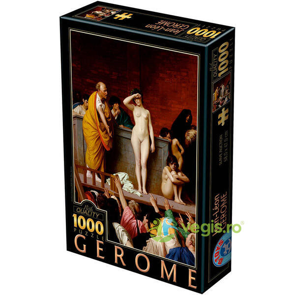 Puzzle 1000 Jean-Leon Gerome - Slave auction D TOYS