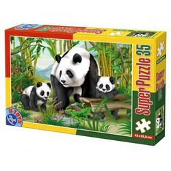 Super puzzle 35 - Animale (Panda) D TOYS