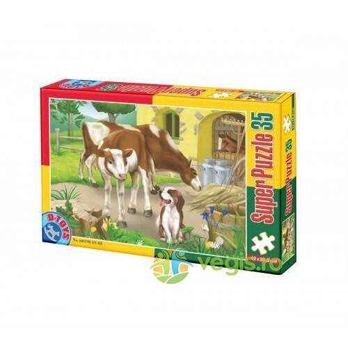 Super puzzle 35 - Animale (Ferma) D TOYS