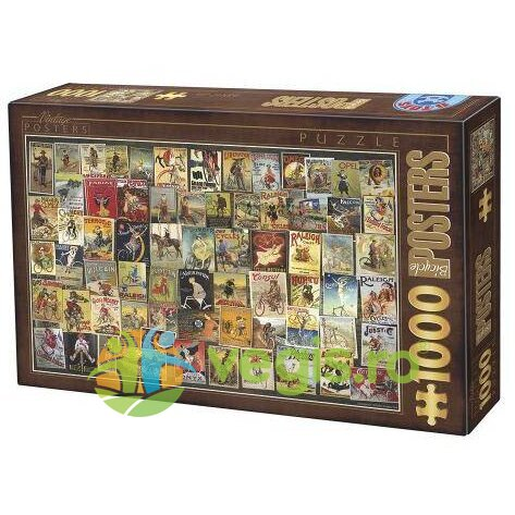 Puzzle 1000 Posteres - Vintage Posters (67555-11)
