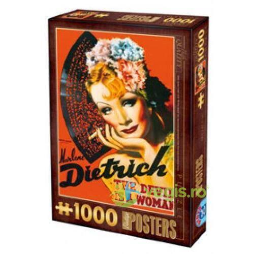 Puzzle 1000 Posteres - Marlene Dietrich D TOYS