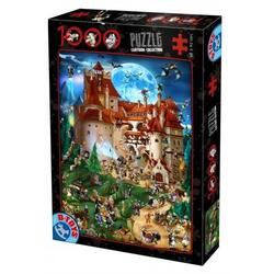 Puzzle 1000 Cartoon Collection - Distractie la castel ( 61218-08) D TOYS