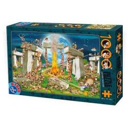 Puzzle 1000 Cartoon collection - Distractie cu foc D TOYS