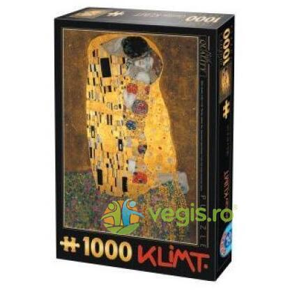 Puzzle 1000 Gustav Klimt - The Kiss (66923-02) D TOYS