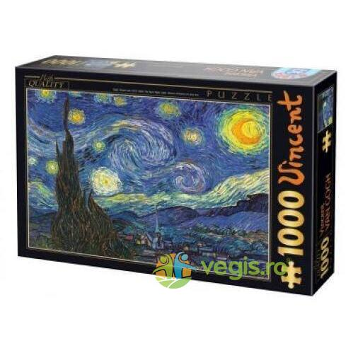 Puzzle 1000 Vincent Van Gogh - The Stary Night D TOYS