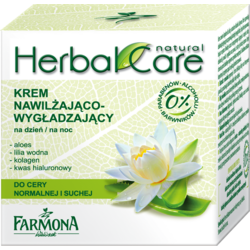 Herbal Care Crema Hidratanta De Zi/Noapte Pentru Ten Normal Si Uscat 50ml FARMONA