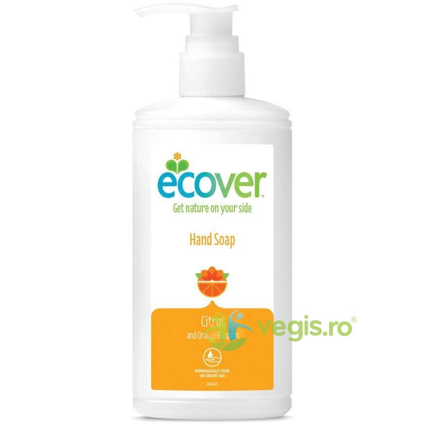 ECOVER Sapun Lichid de Maini cu Citrice si Floare de Portocal 250ml