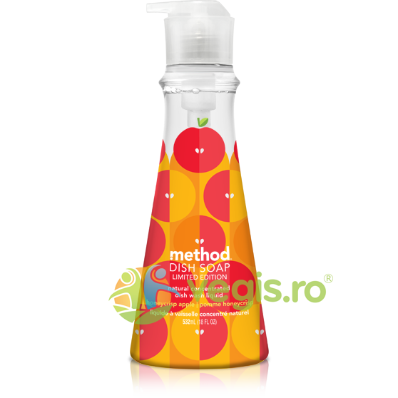 METHOD Detergent de Vase Concentrat cu Mar si Miere 532ml