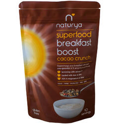 Breakfast Boost Cacao Crunch 150g NATURYA