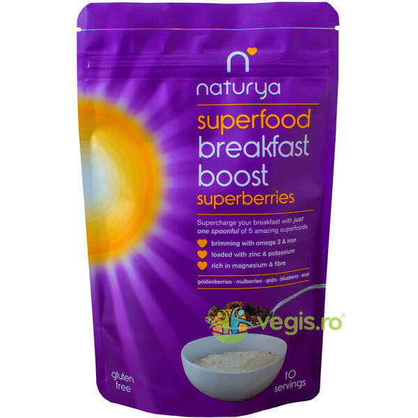 Breakfast Boost Super Berries 150g NATURYA