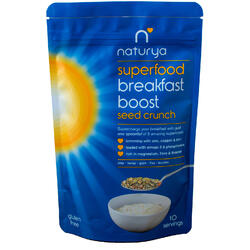 Breakfast Boost Seed Crunch Fara gluten 150g
