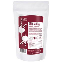 Maca Rosie Pudra Raw Eco/Bio 100g DRAGON SUPERFOODS