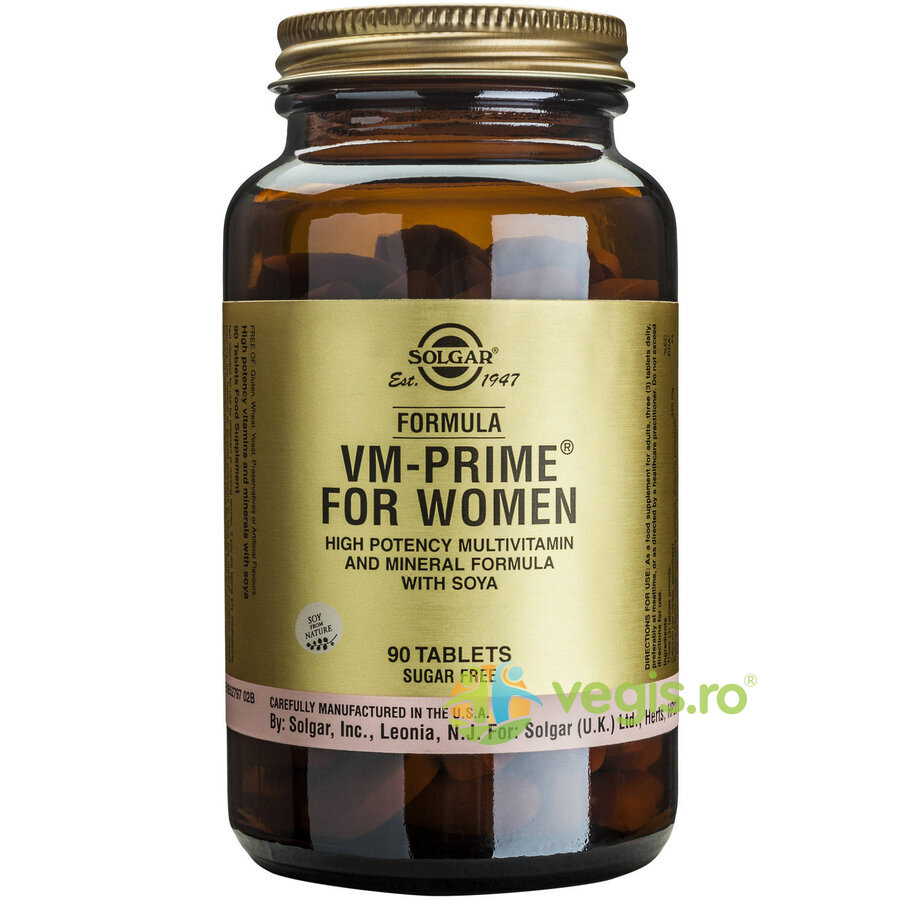 SOLGAR Formula VM Prime for Women 90 tabs