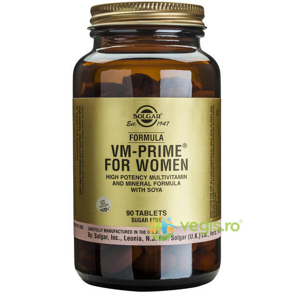 Formula VM Prime for Women 90 tabs SOLGAR