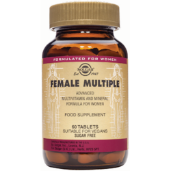 Female Multiple (Multivitamine Femei) 60tab SOLGAR