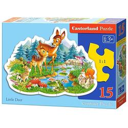 Puzzle 15 Castorland - Little Deer