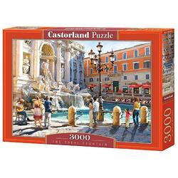 Puzzle 3000 Castorland - The Trevi Fountain