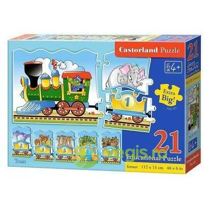 Puzzle 21 Castorland  Educational - Train