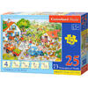 Puzzle Castorland Educational - Counting on the Farm