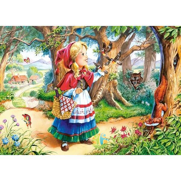 Puzzle 120 Castorland - Little Red Riding Hood