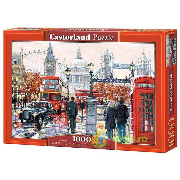 Puzzle 1000 Castorland - London Collage