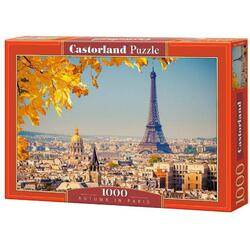 Puzzle 1000 Castorland - Autumn in Paris
