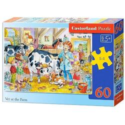 Puzzle 60 Castorland - Vet at the Farm