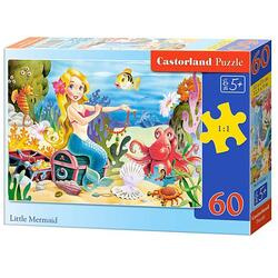 Puzzle 60 Castorland - Little Mermaid