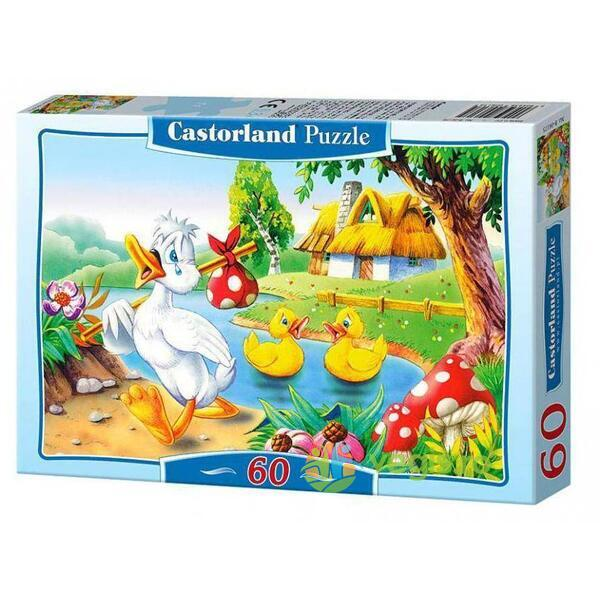 Puzzle 60 Castorland - The Ugly Duckling