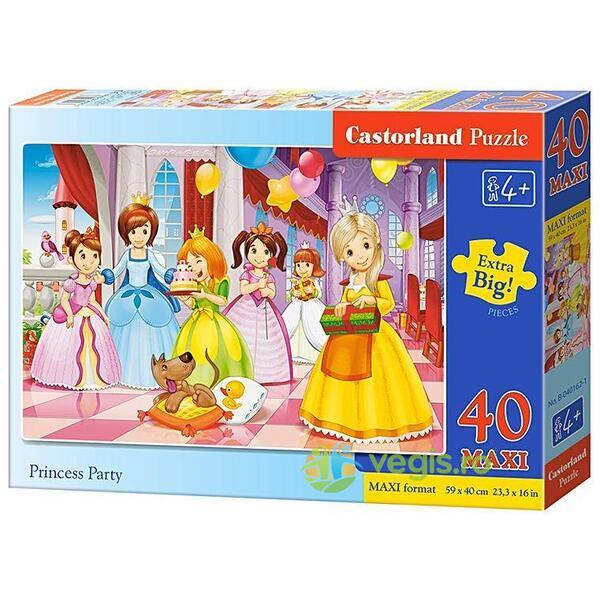 Puzzle 40 Maxi Castorland - Princess Party